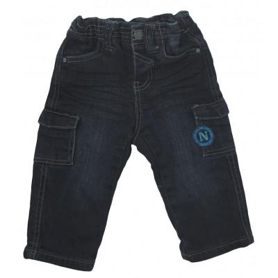 Jeans doublé - OBAÏBI - 3 mois (60)
