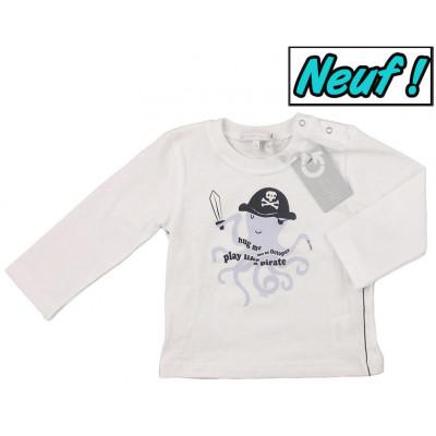 T-Shirt neuf - GYMP - 6 mois (68)