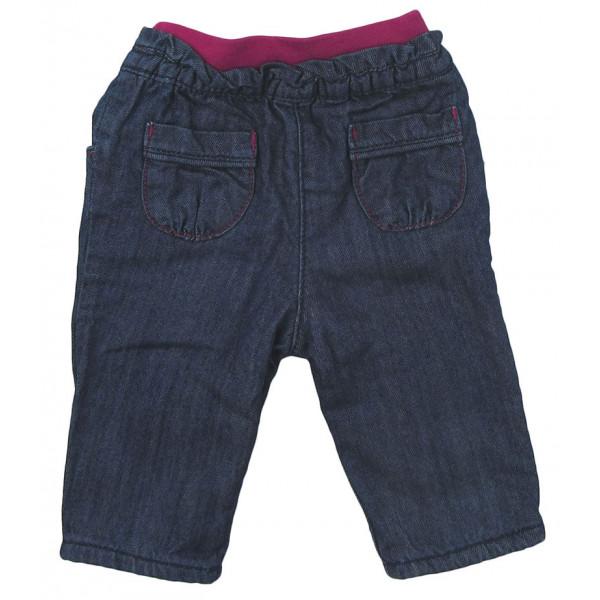 Jeans doublé polaire - OBAÏBI - 6 mois (67)