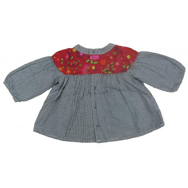 Gevoerde blouse - CATIMINI - 3 maanden (60)