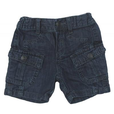 Short en jeans - 3 POMMES - 12 mois (74)