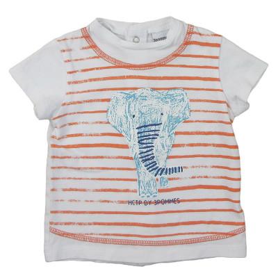 T-Shirt - 3 POMMES - 3-6 mois (68)