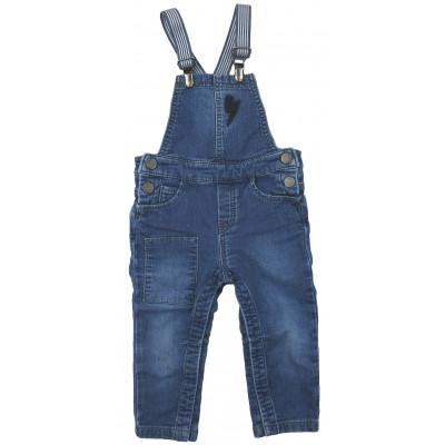 Salopette en jeans - IKKS - 18 mois (80)