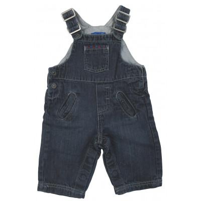 Salopette en jeans - GRAIN DE BLÉ - 6 mois (68)