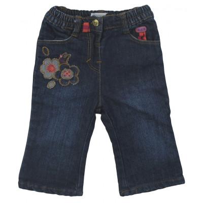 Jeans doublé - COMPAGNIE DES PETITS - 6 mois