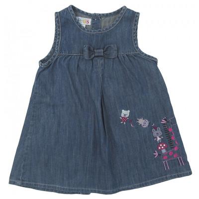 Robe en jeans - COMPAGNIE DES PETITS - 18 mois