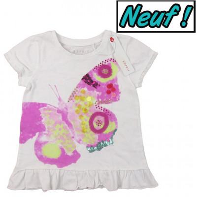 T-Shirt neuf - ESPRIT - 4-5 ans (104-110)