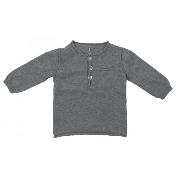 Pull en laine - BUISSONNIERE - 1 mois