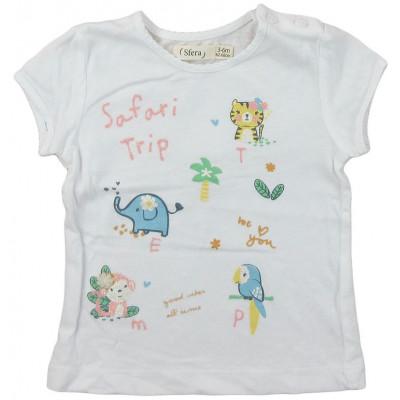 T-Shirt - SFERA - 3-6 mois (62-68)