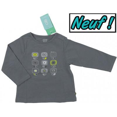 T-Shirt neuf - OBAÏBI - 12 mois (74)