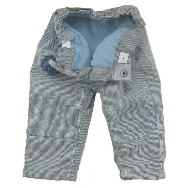 Pantalon doublé polaire - DPAM - 6 mois (67)