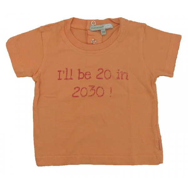T-Shirt - PRÉMAMAN - 9 mois