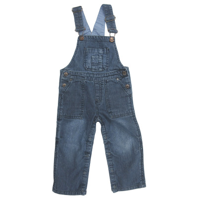 Salopette en jeans - OBAÏBI - 23 mois (86)