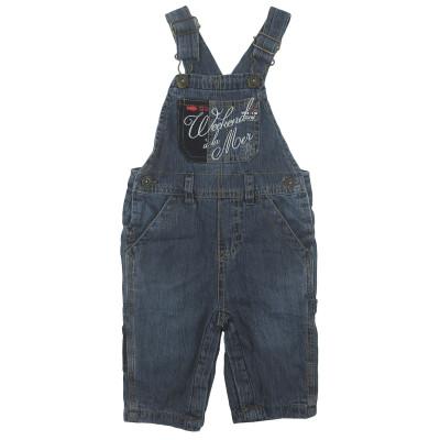 Salopette en jeans - WEEKEND A LA MER - 6 mois