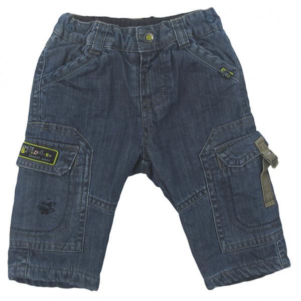 Jeans doublé polaire - SERGENT MAJOR - 6 mois (67)