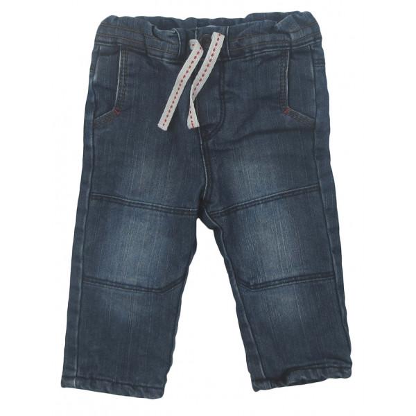 Jeans doublé - OBAÏBI - 3 mois (59)
