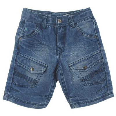 Short en jeans - VERTBAUDET - 4 ans (102)