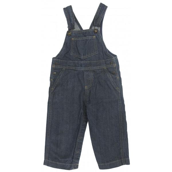 Salopette en jeans - PETIT BATEAU - 18 mois (81)