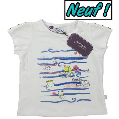 T-Shirt neuf - SERGENT MAJOR - 2 ans (86)
