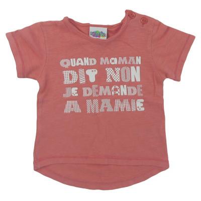 T-Shirt - BULLE DE BB - 6 mois