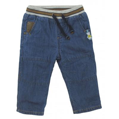 Jeans doublé polaire - SERGENT MAJOR - 9 mois (71)
