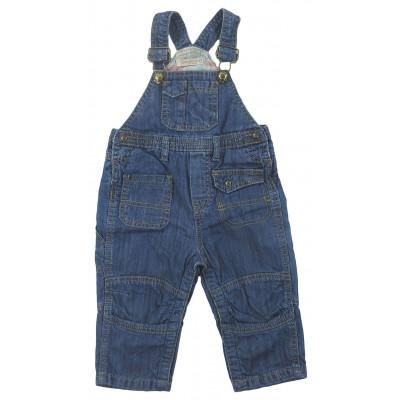 Salopette en jeans - GRAIN DE BLÉ - 12 mois (74)