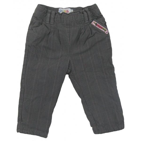 Pantalon doublé polaire - COMPAGNIE DES PETITS - 12 mois