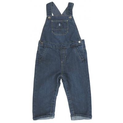 Salopette en jeans - OBAÏBI - 18 mois (80)