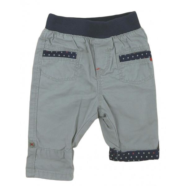 Pantalon convertible - OBAÏBI - 3 mois (60)