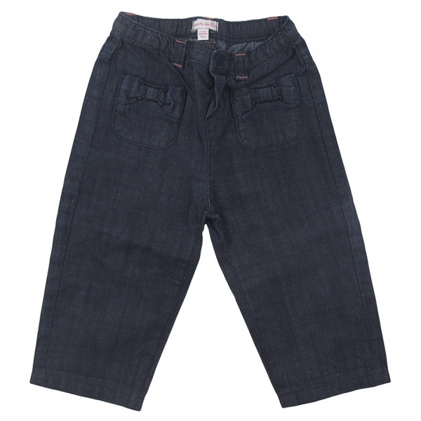 Jeans léger - GRAIN DE BLÉ - 12 mois (74)