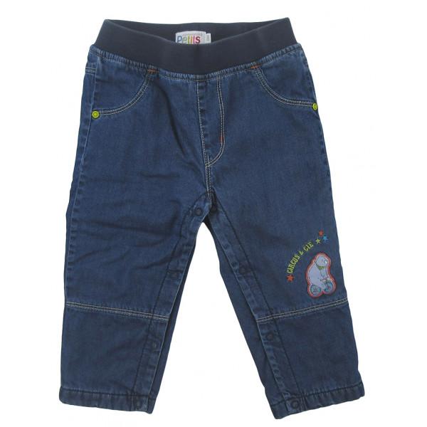 Jeans doublé polaire - COMPAGNIE DES PETITS - 18 mois