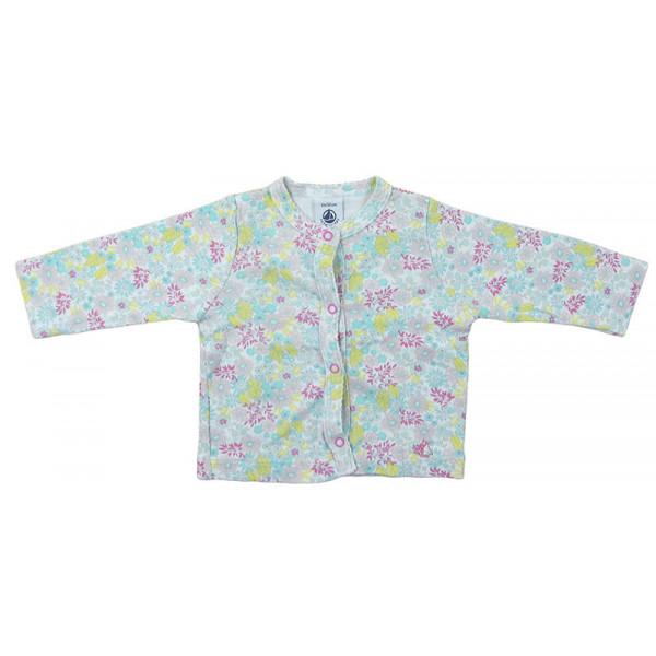 T-Shirt - PETIT BATEAU - 3 mois (60)