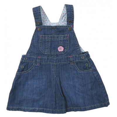 Robe en jeans - GRAIN DE BLÉ - 12 mois (74)