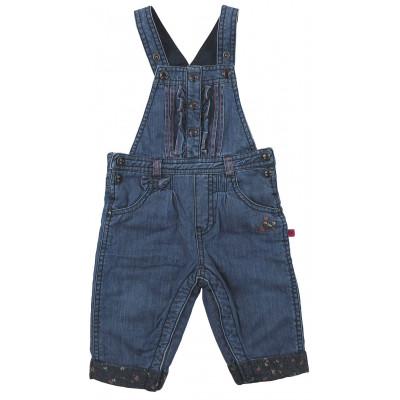 Salopette en jeans doublée - SERGENT MAJOR - 12 mois (74)