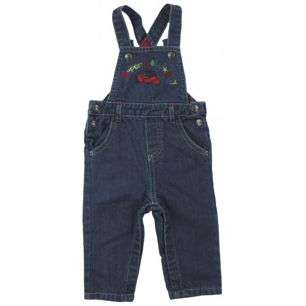 Salopette jeans - COMPAGNIE DES PETITS - 6 mois