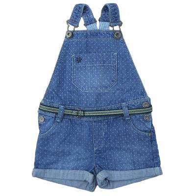 Salopette jeans - OKAÏDI - 3 ans (98)