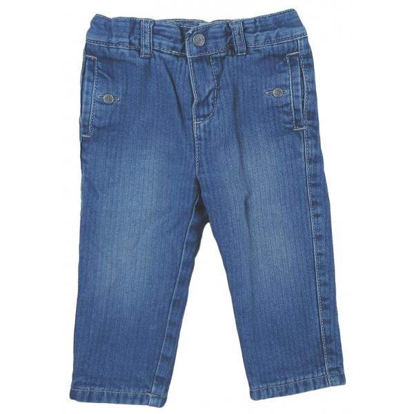 Jeans doublé - OBAÏBI - 12 mois (74)