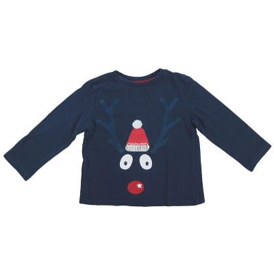 "T-Shirt ""Noël"" - DPAM - 2 ans (92)"