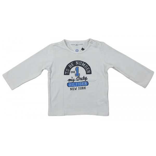 T-Shirt - TOMMY HILFIGER - 6 mois (68)