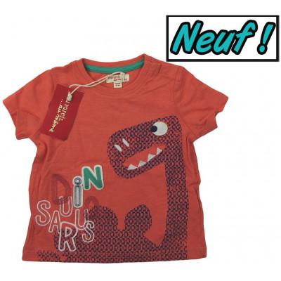 T-Shirt neuf - DPAM - 12 mois (74)