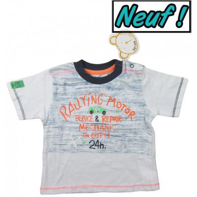 T-Shirt neuf - LOSAN - 3-6 mois (62)