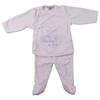 Pyjama 2 pièces - GRAIN DE BLÉ - 3 mois (59)