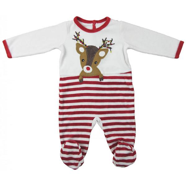 "Pyjama ""Noël"" - DPAM - 6 mois (68)"