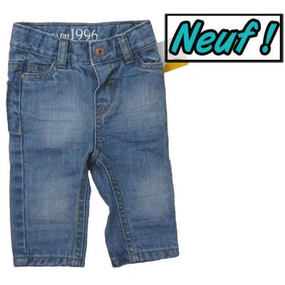 Jeans neuf - OBAÏBI - 3 mois (60)