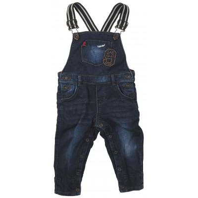 Salopette en jeans - CATIMINI - 18 mois (80)