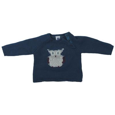 Pull en laine - PETIT BATEAU - 6 mois (67)