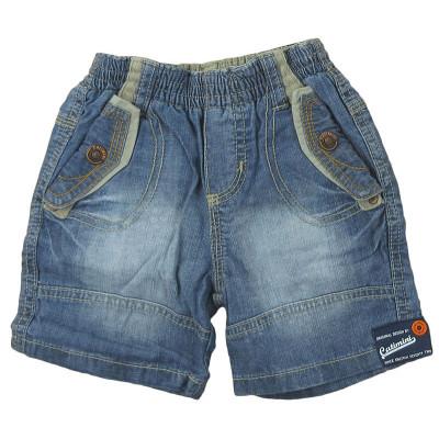 Short en jeans - CATIMINI - 12 mois (74)