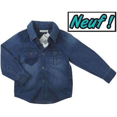 Chemise en jeans neuve - NAME IT - 12-18 mois (86)