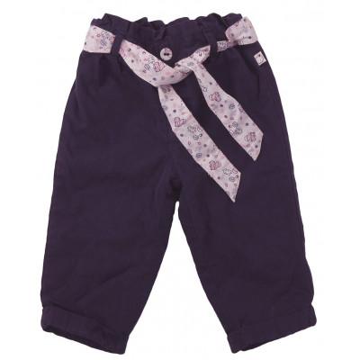 Pantalon doublé polaire - SERGENT MAJOR - 12 mois (74)