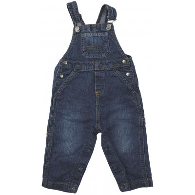 Salopette jeans - PETIT BATEAU - 12 mois (74)